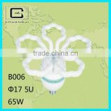 B006 reasonable price durable super bright 65w flower fluorescent light fixture parts