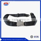 retractable two points automatic safety seat belt for vehicle or airplane