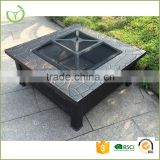Hot sale outdoor square garden steel mesh charcoal fire pit