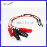 RC model helicopter mini alligator clip battery cable connector