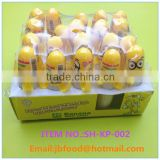 very popular banana shape spray candy in box