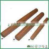 Customed size bamboo rolling pin ,simple eco-friendly