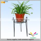 Factory directly high quality custom fancy antique garden decorative wrought iron planter stands
