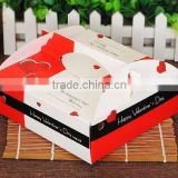 Wholesale Custom Colorful airline food box Printing pyramid candy box,UV Protected Matte cosmetic box ---DH20381