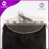 STOCK 13X6 free parting human hair transparent lace frontal closure 13x4 straight body wave in stock with folded edge                                                                         Quality Choice