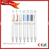Office & School Pen ,logo ball pen Use plastic matetial uni ball gel pen