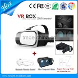 2016 New Arrive 3D VR Box Virtual Reality Glasses Cardboard Movie Game for Samsung IOS iPhone