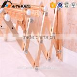Hot Sale Clothes Dryer Rack, Used at Wall-mount, with Aluminum Tube and ABS Plastic