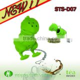 hot sale animal silicone tea infuser