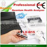 Hot new products for 2014 full body health analyzer bio magnetic analyzer