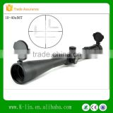Newest Optics Titan 35mm Monutube Side Focus Illuminated Turret Lock Mil-dot 10-40x56T IR Riflescope 56