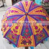 Buy Exclusive Multicolour Vintage Garden Umbrella For Open Restaurants And Cafes / Pools