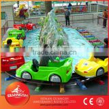 Park water attractions kids amusement games, electric water shooting gun mini trains for sale