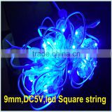 RGB or Single Color Solar fairy light IP67 wedding party LED String 50leds solar micro led string lights                                                                                                         Supplier's Choice