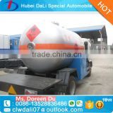 Dongfeng 4x2 lpg gas tank truck for sale
