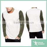 o neck raglan t shirt long sleeve t shirts manufacturers in china,wholesale bulk plain white t shirts china