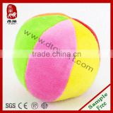 Plush rattle ball toys ,Stuffed bell ball toys
