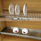 Professional production kitchen sink dish rack & kitchen dish rack & SS kitchen dish rack (guangzhou)