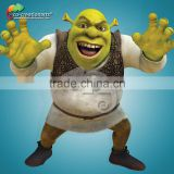 Life size fiberglass figure animation 3d shrek