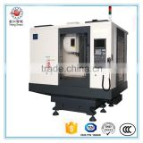4-axis VMC850 Chinese gap bed lathe /cutting metal machine/heavy duty lathe