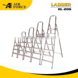 AF HL206 High Quality 6 Step Aluminum Foldable Step Ladder