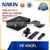 DVB-S2+T2+Cable V8 Angel 4K Satellite Receiver                                                                         Quality Choice