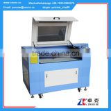 hot sale leather paper laser cutting machine with Leetro 6525 control card ZK-9060-130W