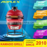 Optional Surface finish Kamado Mini Clay Egg BBQ Grill