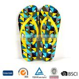 2016 new model light weight multicolor checked pattern men sole indoor eva slippers sandals