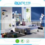 children bedroom furniture8350-2 ,football kids bedroom furniture design,black and white kids furniture