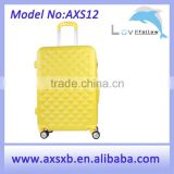 ABS+PC 3 pcs set eminent 3 piece trolley luggage set polo luggage size carry polo luggage