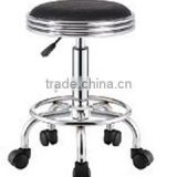 colorful hair salon master stool with wheels