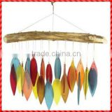 Colorful handmade ceramic wind chimes wholesale