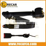 Safety belt R003 with sensor/ELR 3 point security belt with automatic retractor, auto 3point retractor safety seat belt