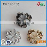 Hot! High Quality Unique Design Beautiful Crystal Rhinestone Button with Cat's Eye Stone for Decoration in Bulk