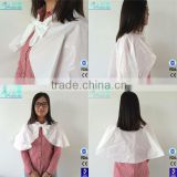 Disposable PE hair cutting cape design hair cutting capes from china kids hair cutting cape