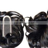 women / Men Closures - Human hair Weave Closure- hand Made