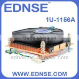 EDNSE 1U-1156A CPU cooler refrigerated cpu cooler LGA 1156