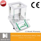touch screen 200g LCD 0.1mg precision 0.0001g laboratory electronic digital analytical balance