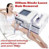 At Home Hair Removal Permanent Hair Removal Professional 808nm Diode Laser/laser Hair Removal Machine Pigmented Hair