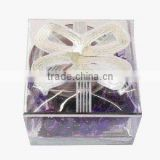 Elegant fashion glass candle holder wax craft for gift