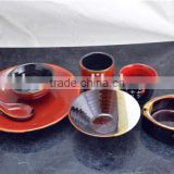 dark glazed porcelain dinner set made in hunan,handmade porcelain dinner set,elegance fine porcelain dinner set