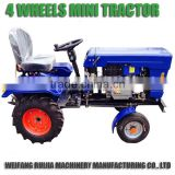 Hot sale China good quality mini tractors with tractor parts ! Tractor price list of mini farm tractor 12hp !