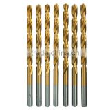 3/16 In. High Speed Steel Titanium Nitride Drill Bits, 7 Piece carbide drill bit twist drill bit scrap drill bit