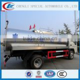 Stainless steel Drinking Water transportation Tank Truck for 5cbm capacity Water Bowser Truck for sale