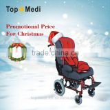 2015 medical equipment Rehabilitation therapy supplies reclining high back cerebral palsy aluminum wheelchair for children