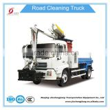 270 degree rotation multi-function guardrail and tunnel wall cleaning washing vehicles