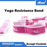 FITNESS EQUIPMENT ELASTIC BODY RESISTANCE BANDS TUBE WORKOUT EXERCISE BAND YOGA - Accept Custom