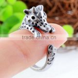 Giraffe Rings Animal Wrap Rings vintage jewelry Adjustable Retro Ring for Women Resizable