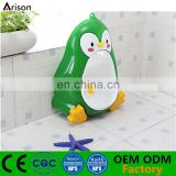 Kids' plastic wall potty penguin toilet boys' piss training potty with wall suckers